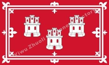 Británico de la ciudad de Aberdeen bandera 150X90cm (3x5FT) 120g 100D de...