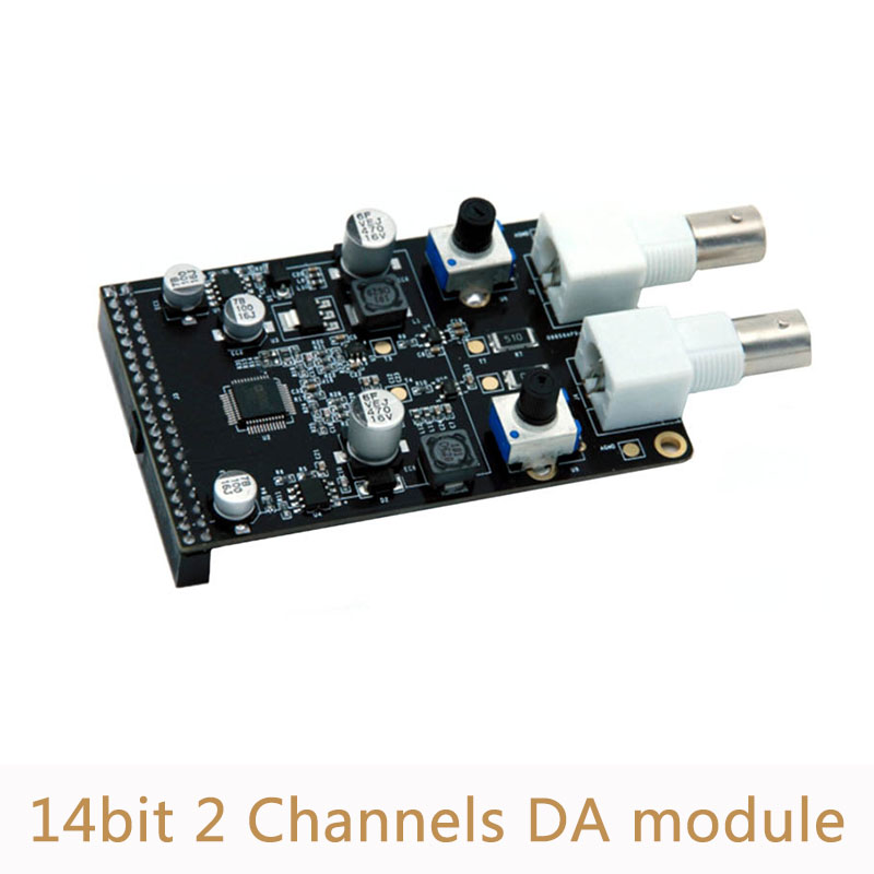 14bit 125MSPS Digital to Analog Module 2 Channels AD9767 DA Module for FPGA Development Board XL01014bit 125MSPS Digital to Analog Module 2 Channels AD9767 DA Module for FPGA Development Board XL010
