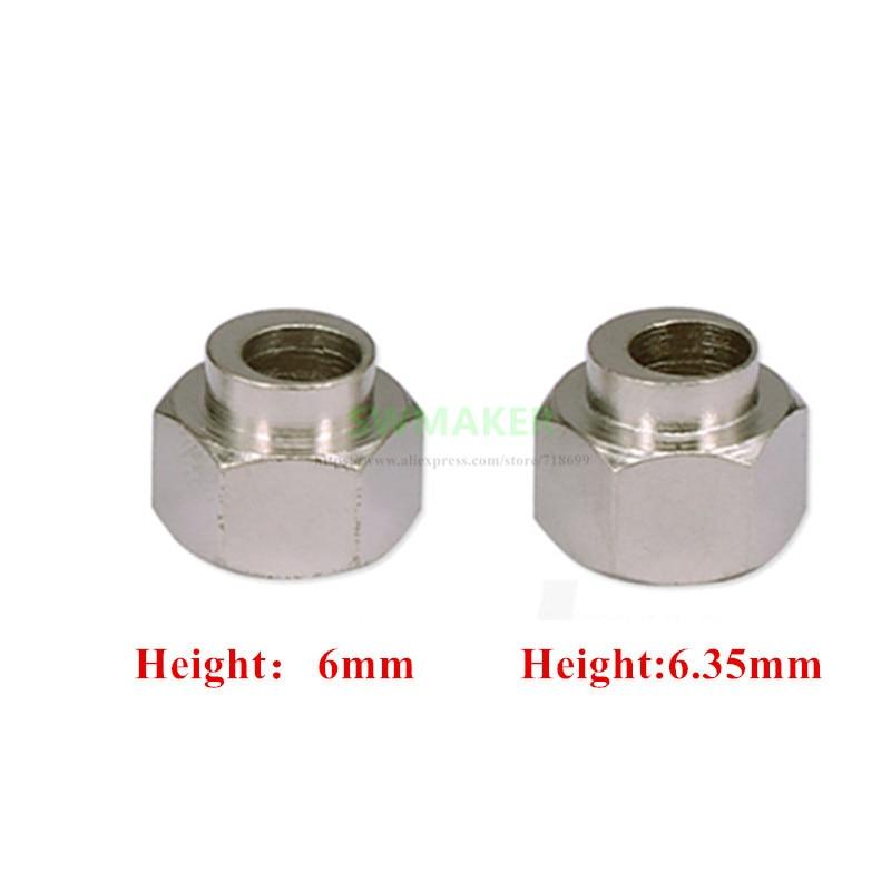 10pcs 6mm/6.35mm Eccentric Spacer Bore 5mm For Openbuilds Reprap 3D Printer OX/Shapeoko CNC DIY Parts