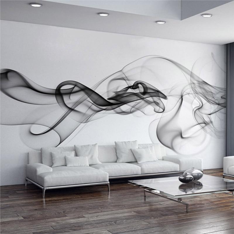 Schon Wundervoll Nach Wandbild Tapete Moderne Rauch Wolken Abstrakte Kunst Große  Wand Malerei Schlafzimmer Wohnzimmer Sofa TV