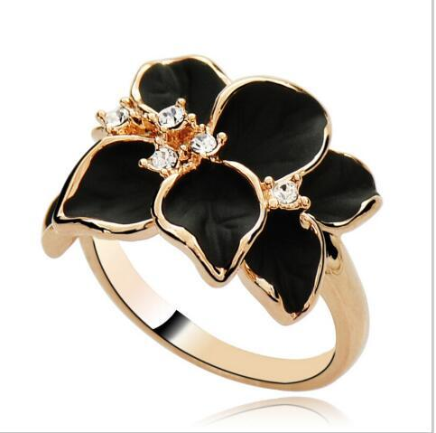 New arrives Fashion imitation Gardenia Ring 8RD47