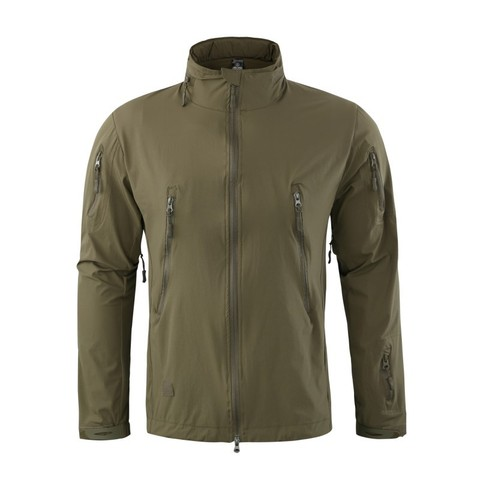 Spring Autumn Hiking jacket Windbreaker for Men Tactical  Elastic Quick Dry Thin Jackets Outdoor Cycling Climbing Fishing Coats Karachi
