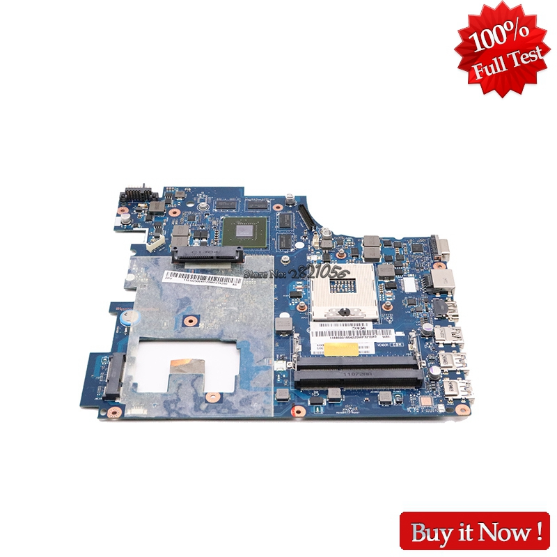 NOKOTION For Lenovo G780 Laptop Motherboard QIWG7 LA-7983P 17.3'' HM76 DDR3 GT635M 2GB Discrete Graphics original for asus k46cm rev2 0 with 987 cpu motherboard 60 ntjmb1101 c03 1g hm76 chipset gt635m 2gb ddr3 work perfect