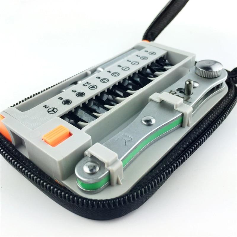 12PCS / sada mini přenosných rychloběžných šroubováků - Sady nástrojů - Fotografie 6
