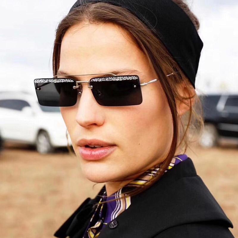Kvadrātveida saulesbrilles sievietēm Vīrieši Vintage dizaina - Apģērba piederumi