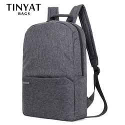 TINYAT Men Women Travel Backpack Mochila Casual Rucksack Canvas Shoulder School Backpack Bag Men Laptop Backpack For 15 inch