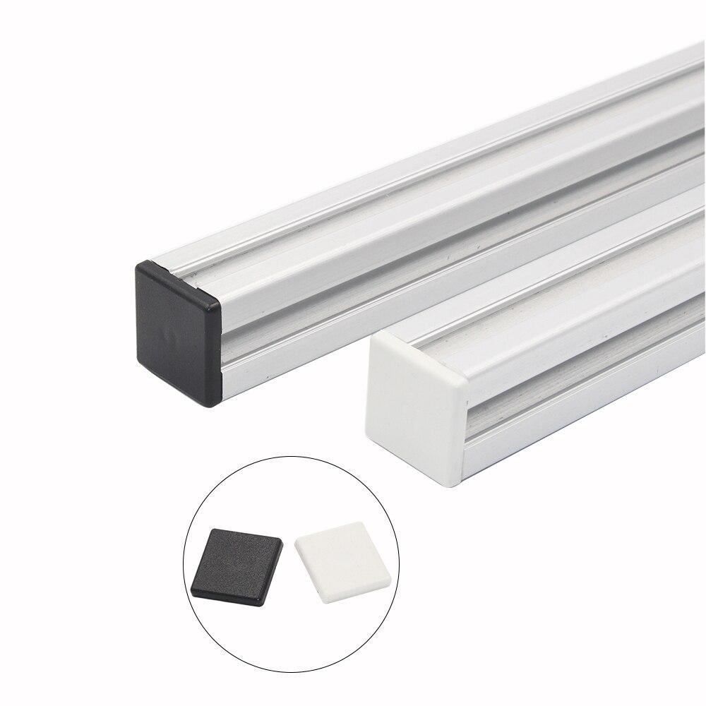 10 pcs/lot embout plastique couvercle plaque pour EU aluminium profil 2020 embout noir/blanc10 pcs/lot embout plastique couvercle plaque pour EU aluminium profil 2020 embout noir/blanc