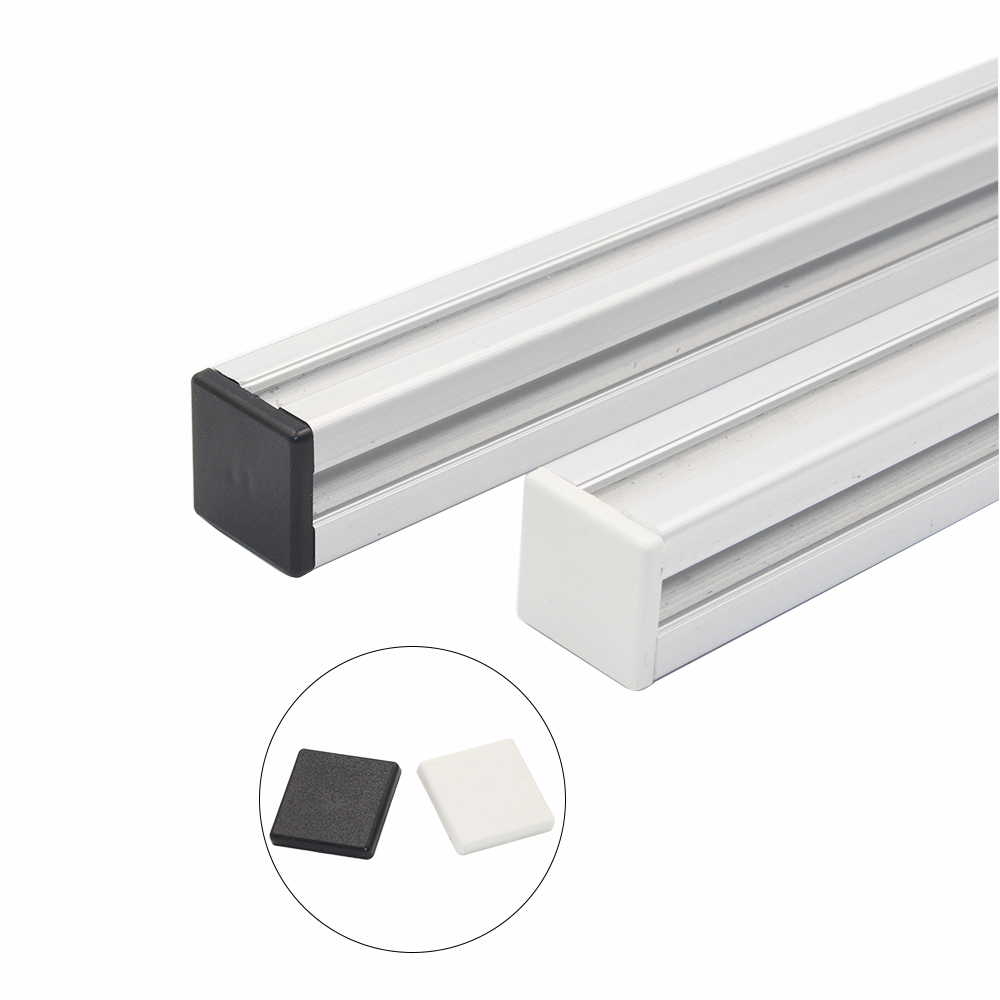 BIlinli 10pcs Aluminum Profile End Cap 2020 Plastic End Cap Cover Plate for EU Aluminum Profile Extrusion