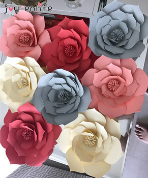 Joy enlife 1pcs 30cm40cm diy paper flowers backdrop decorative joy enlife 1pcs 30cm40cm diy paper flowers backdrop decorative artificial flowers wedding favors birthday party home decoration mightylinksfo