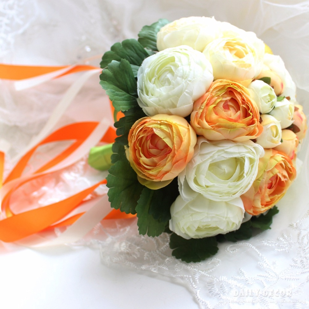 Artificial peony wedding bridal bouquet bridesmaid holding flowers artificial peony wedding bridal bouquet bridesmaid holding flowers cheap wedding bouquet flower yellow white green free shipping in artificial dried izmirmasajfo Choice Image