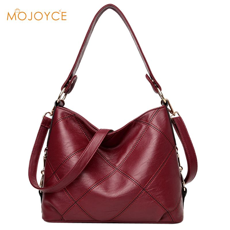 2018 Luxury Women Shoulder Bags Female Fashion Girl Shoulder Bags for Women Soft PU Leather Ladies Crossbody Bags Handbags Tote