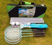 4 Player recreational portable badminton kit badminton combination set sports badminton set gamecraft with carrying bag