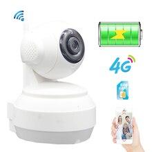 hot deal buy sim card 3g 4g built-in battery ip camera 720p 960p hd wireless wifi security camera home surveillance ir p2p sd card hotspot