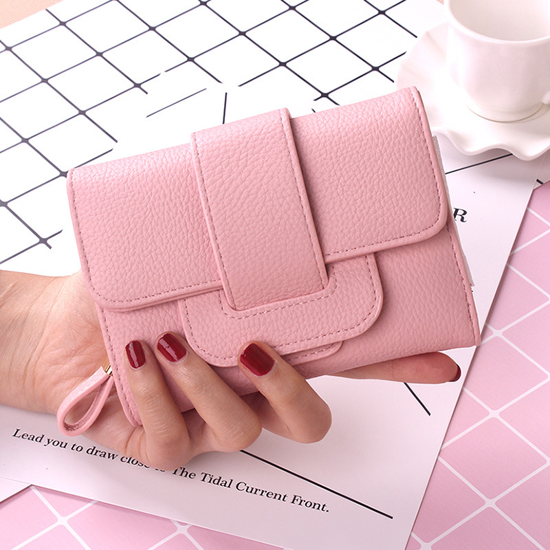 2017 New Luxury Soft Leather Women Hasp Wallet Fashion Tri-Folds Clutch For Girls Coin Purse Card Holders Female Blue Money Bag new women fashion leather hasp tri folds wallet portable multifunction long change purse hot female coin zipper clutch for girl