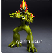 Ben10 Alien Force Brain Storm Spider Monkey Humongousaur Swampfire PVC Action Figure Cartoon Model Doll G509(China)