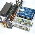 Laptop TV/LCD/LED kit de Herramienta de Prueba probador del panel del led Soporte 7-84 Pulgadas de interfaz LVDS 14/línea de la pantalla + tablero de alta presión + adaptador