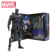 27cm Black Panther Figure Marvel Universe Variant Playarts PVC Action Figures Collectible Model Toy Marvel Toys