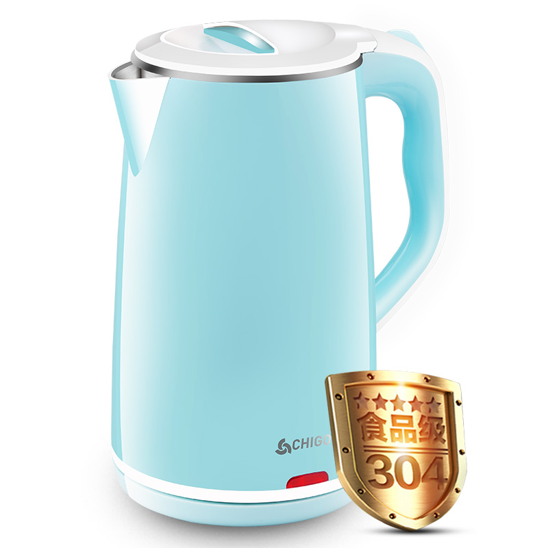 ZD1898 electric kettle Household High capacity Double layer stainless steel kettle новый русский базар 1869 1898