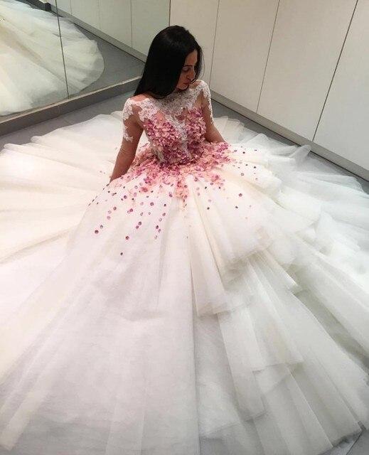 Vestidos de quinceanera color blanco