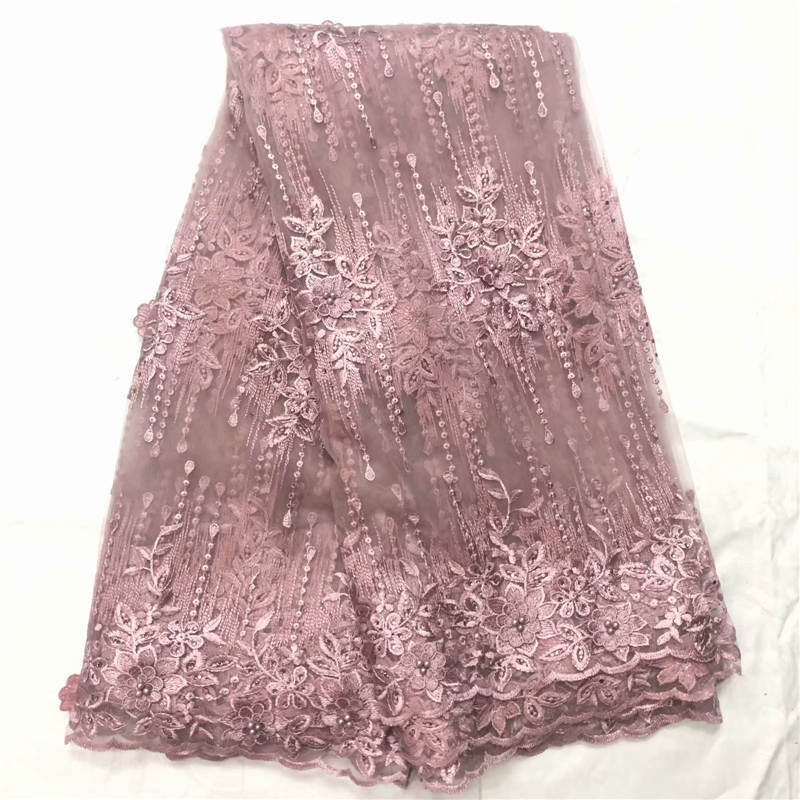 MW!African Lace Fabric 2019 Embroidered Nigerian Laces Fabric Bridal High Quality French Tulle Lace Fabric For Women ! J41415MW!African Lace Fabric 2019 Embroidered Nigerian Laces Fabric Bridal High Quality French Tulle Lace Fabric For Women ! J41415