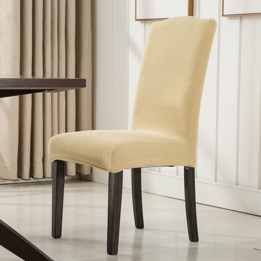 ROMANZO Colorful Cotton Spandex Dining High Back Chair