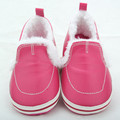 Wholesale Winter New Style Baby Girls Casual Shoes Soft Sole Crib Shoes Infants First Walkers Newborn Warm Cotton Prewalker
