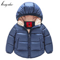 keaiyouhou Baby Boys Winter Jacket For Girls Jacket Coat Kids Warm Outerwear Coat 2017 Autumn Hooded Boy Jacket Children Clothes