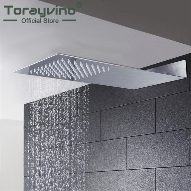 Torayvino Super Thin Perfect Luxury Hot Sale Square Rain Shower ...