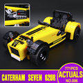 Lepin 21008 New 771Pcs Creative Technic Series The Caterham Classic 620R Racing Car Set Building Blocks Bricks 21307