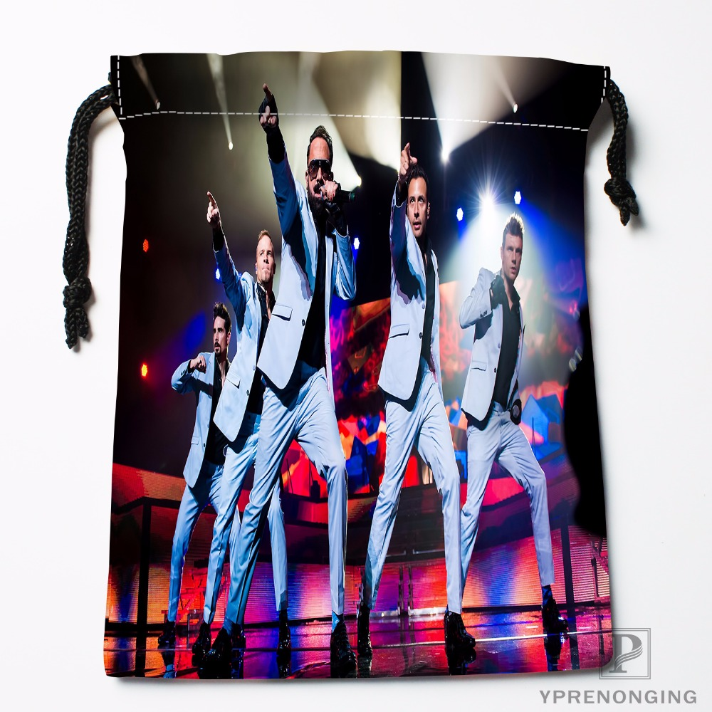 Custom Backstreet Boys Drawstring Bags Printing Travel Storage Mini Pouch Swim Hiking Toy Bag Size 18x22cm#180412-11-05