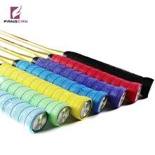 Fangcan tennis handle grip badminton racket over grips handle grip rods buffed grain overgrips 7 pc/lot