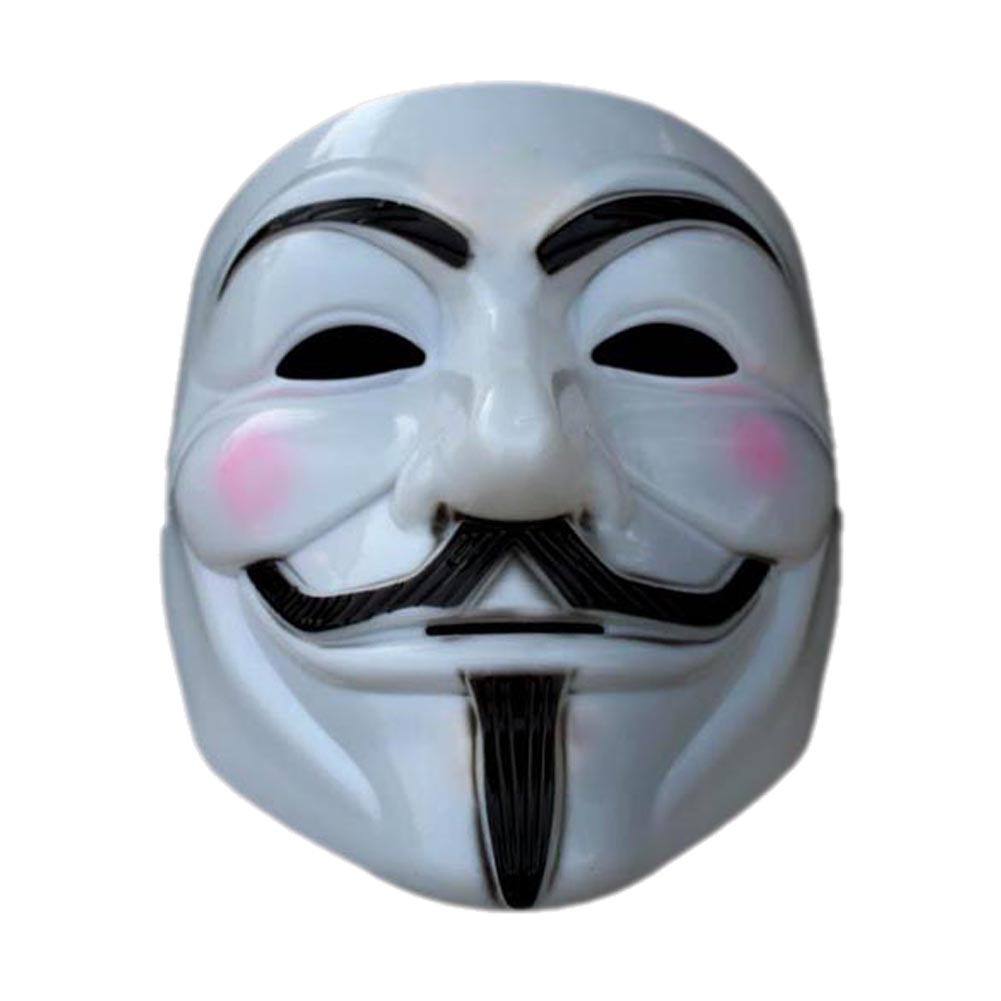 New Halloween Cosplay Cool V For Vendetta Anonymous Movie Adult Guy Costume Mask Prank toys TY