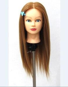 Свободный Манекен перевозка груза манекен, манекен, синтетический манекен для тренировки волос, голова манекена с бесплатным зажимом