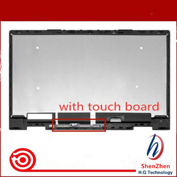 Full LCD Display Screen Touch Glass Digitizer Assembly For HP ENVY x360 15-bp006na 15-bp006nf 15-bp006ng 15-bp006tx 15-bp006ur