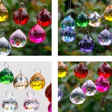 12pc Crystal Dream Catcher With Colorful Crystal Ball Decoration