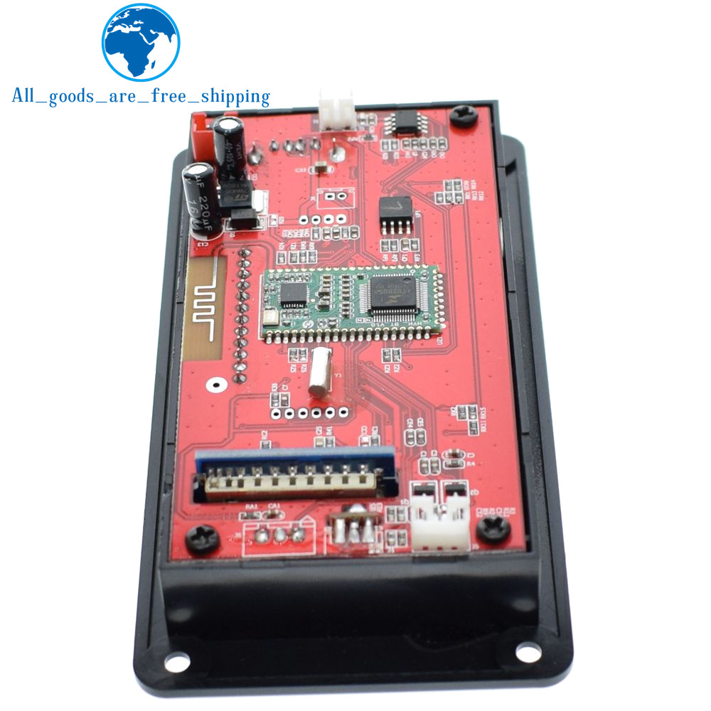 Tzt Bluetooth 40 Audio Mp3 Player Decoder Board Lossless Music Booster Circuits Recorder Ape Flac Fm Sd Mmc Radio Module Kit 12v Aux Digital In Integrated From