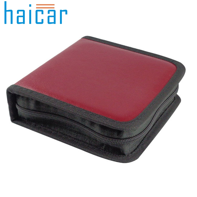 Haicar organizer New 40 CD DVD Disc Organizer Storage bag Cover Carry Case Holder Box U70227