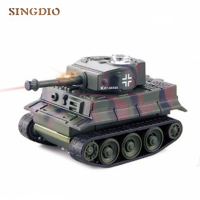 The latest model child mini wireless tank toy shape lifelike small tank for children