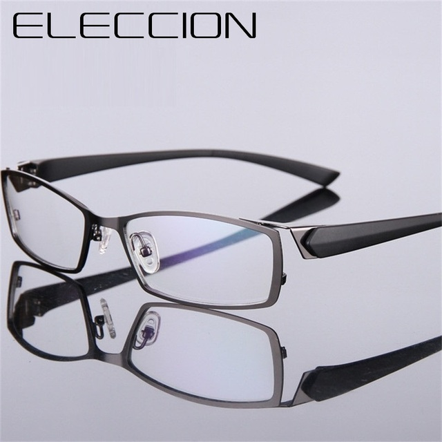 1fc3b4a6a4 ELECCION Brand Spectacle Frame Attractive Mens Distinctive Design Brand  Comfortable Eyeglasses Frame Square Sports Glasses Frame