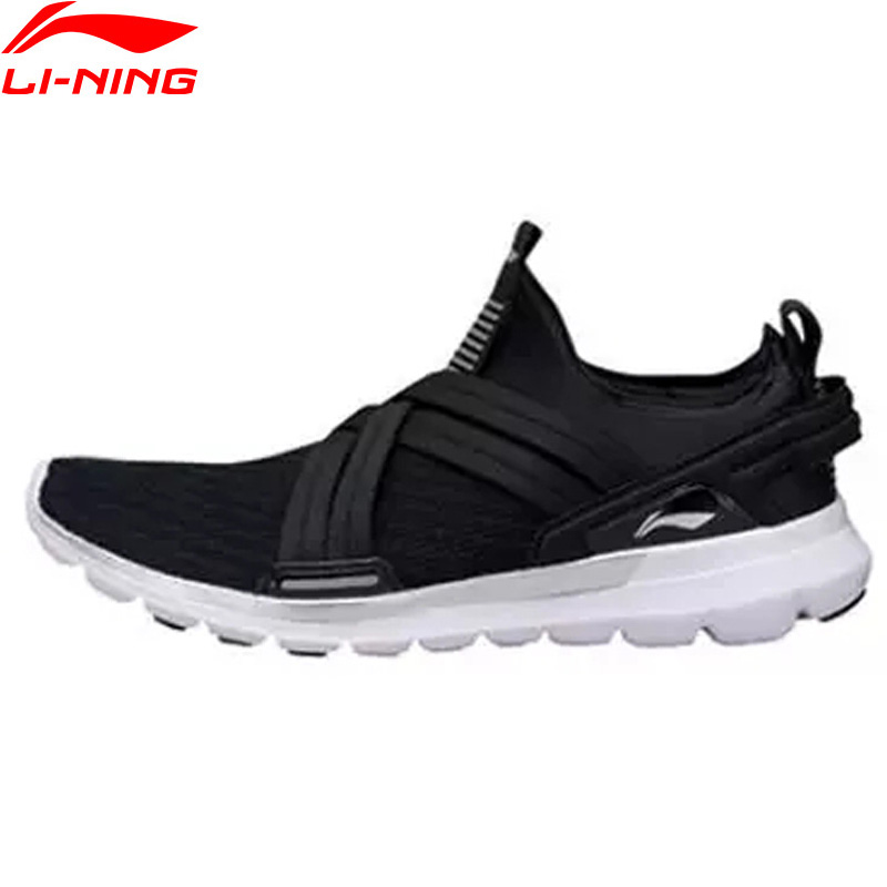 Li Ning Men FLEXRUNNING V2 Running Shoes Breathable Cushion Flexible LiNing Comfort Sport Shoes Sneakers ARKP003