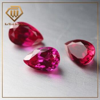 32457ad5ffc2 10 piezas de piedra unids roja 3*5mm-10*12mm 5 # piedra
