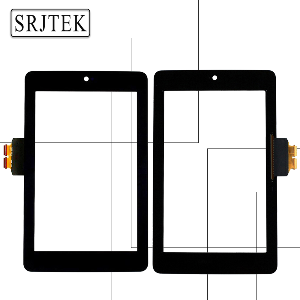 Srjtek 7 For ASUS Google Nexus 7 1st Gen nexus7 2012 ME370 ME370T Touch Screen Tablet Digitizer Glass Replacement Parts Black full new lcd display touch digitizer screen for asus google nexus 7 1st gen nexus7 2012 me370 me370t me370tg free shipping
