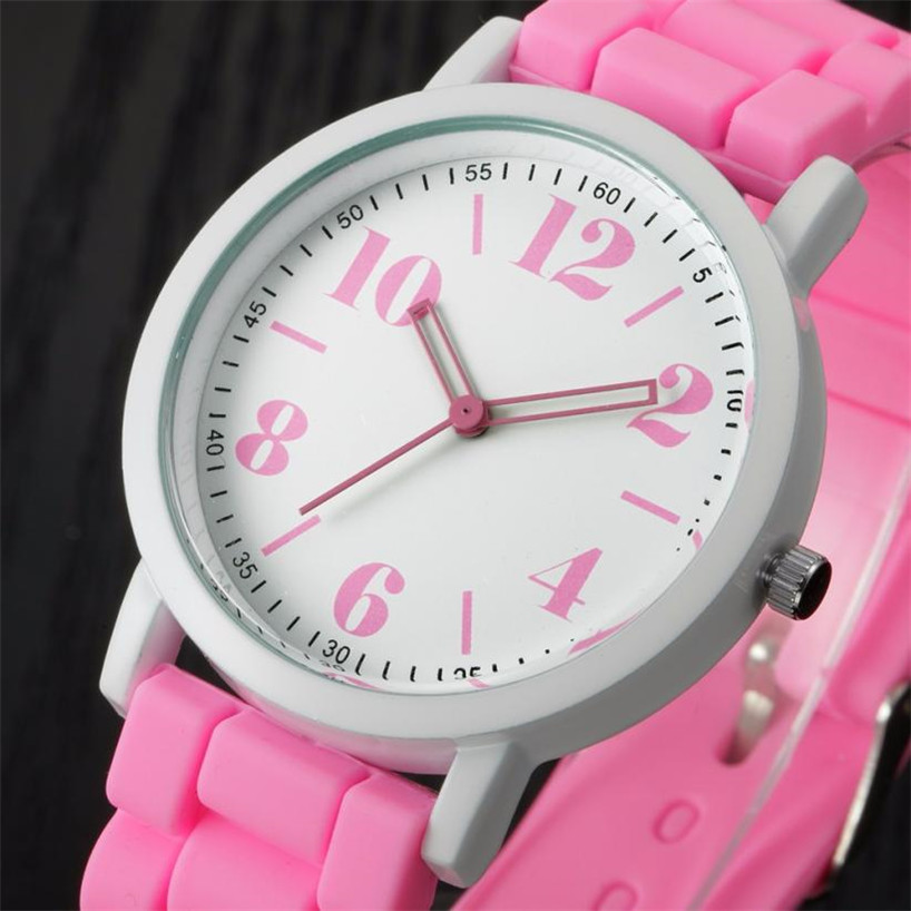 Ladies Watch Relojes Mujer 2016 Famous brand Clock Women Analog Silica Jelly Gel Quartz Sports Wrist Watches Women Gift Saat #60 cocoshine a 912 women silicone rubber jelly gel quartz casual sports wrist watch wholesale free shipping