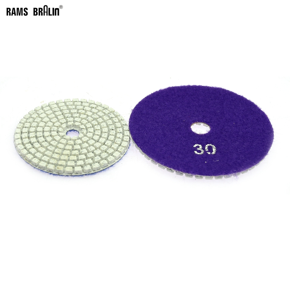 1 Piece Stone Polishing Pad P30 - P3000 Coarse Grinding To Fine Polishing Disc