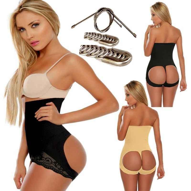 Sexy Body wysokiej talii szczupła kobiet tyłek z kontrola brzucha Butt wzmacniacz ćwiczenia treningowe spodenki ze stali kości Butt podnośnik kontrola