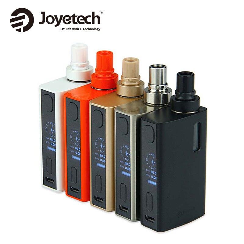 Оригинальный 80 Вт Joyetech егрип II VT starter kit 2100 мАч Батарея Ёмкость егрип 2 комплекта 3.5 мл/2.0 мл Ёмкость E-Grip 2 комплекта E-cigarete