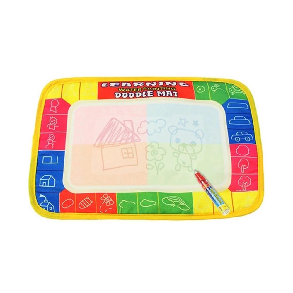 Magic Pen Kids Children Toys Water Drawing Painting Writing Board Mat Xmas Gift New Hot!
