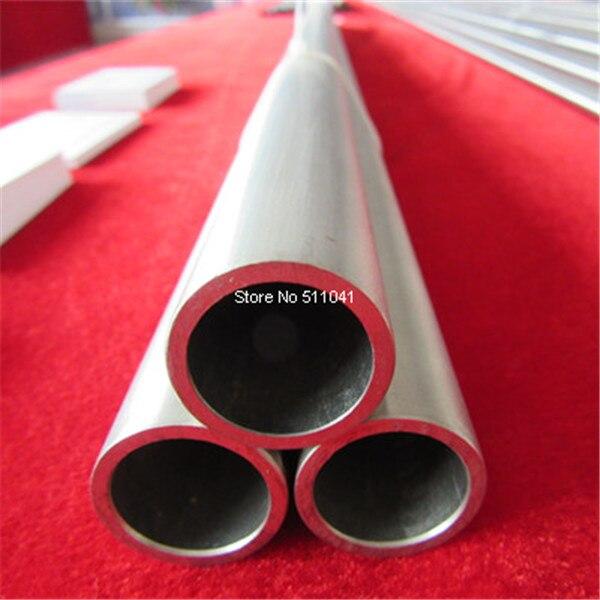 Tube titane grade 2 Tube titane sans soudure gr2 59 mmOD * 2.6mm TH * 1000mm L, livraison gratuite