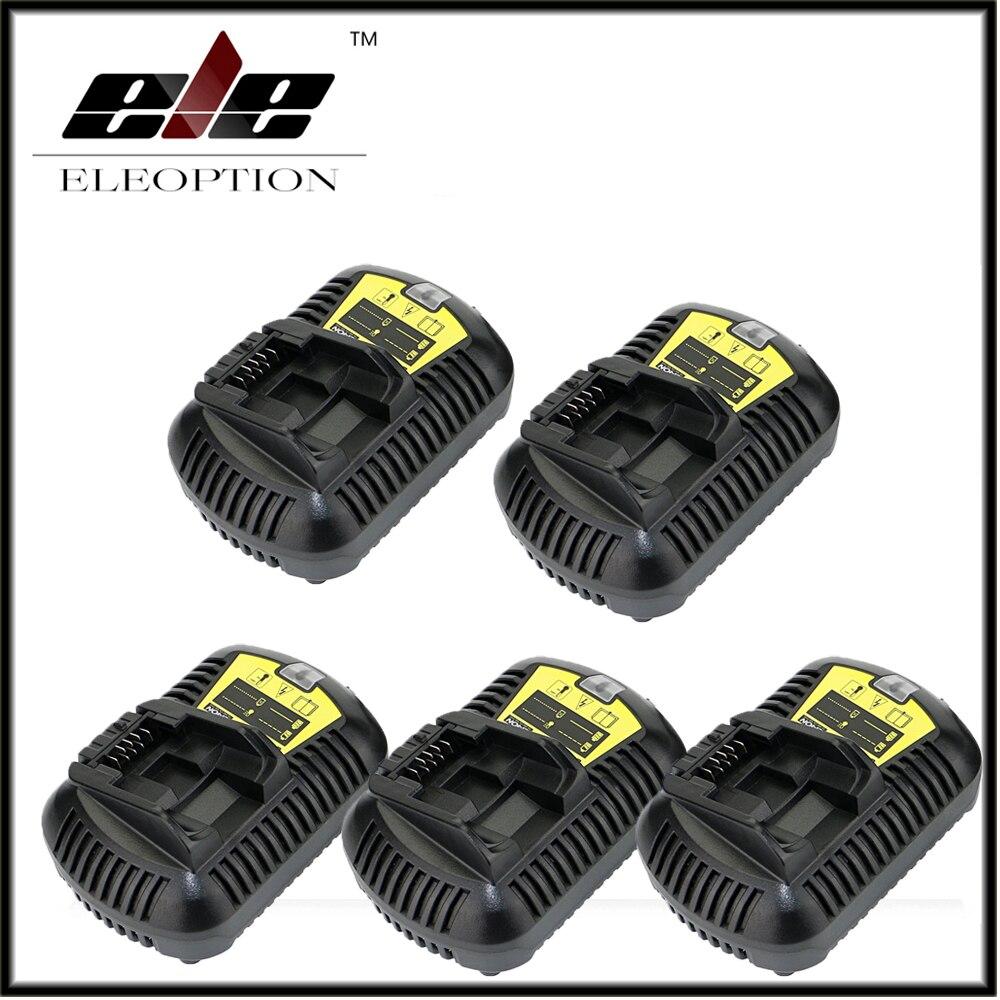 5x Charger For Dewalt 10.8V 12V 14.4V 20V MAX Li-ion Battery DCB105 DCB101 DCB120/DCB203/DCB200/DCB201/DCB204/DCB180/DCB182 5pcs 5000mah power tool rechargeable li ion battery replacement for dewalt 18v dcb200 dcb201 dcb203 dcb204 dcb180 dcb181 dcb182