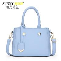 Women Bag Tassel Rivet Handbags Soft Solid Zipper Shoulder Crossbody Bags Fashion Korean Tote Fresh Girl